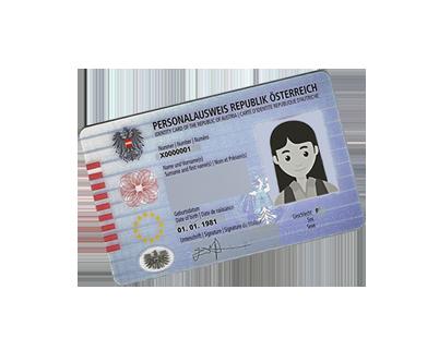 Foto für Personalausweis